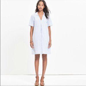 NWOT Madewell Swingout Striped Dress